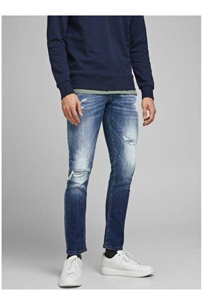 Erkek Mavi Jean Pantolon