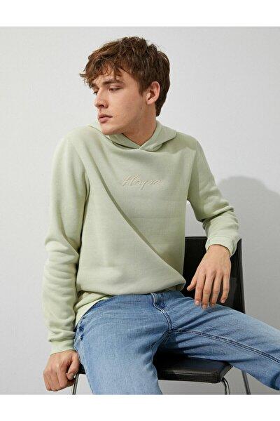 Erkek A.Yeşil Sweatshirt 1YAM71596LK