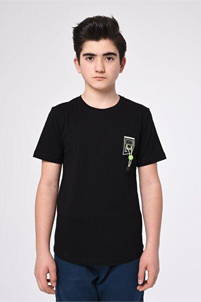Erkek Çocuk Basıc Yaka T-shirt