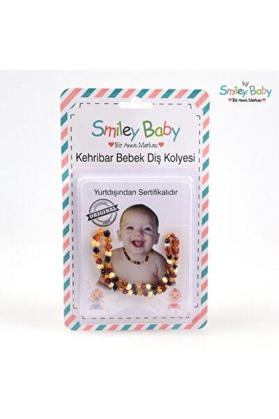 Kehribar Bebek Diş Kolyesi