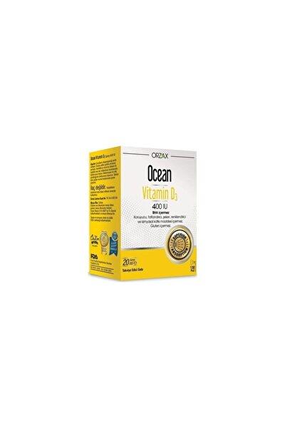 Orzax Vitamin D3 400'Iu Sprey 20ml