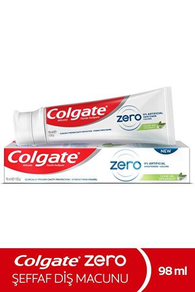 Zero Spearmint Doğal Nane Aroması Şeffaf Diş Macunu 98 ml