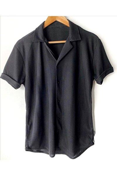 Erkek Kısa Kollu Yazlık Gömlek
