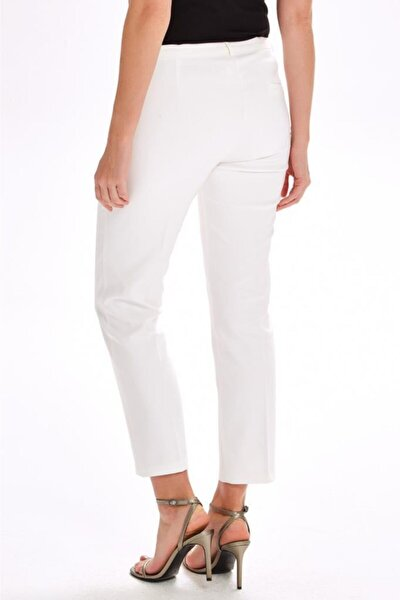 Metal Düğmeli Standart Fit Pantolon 020-3513