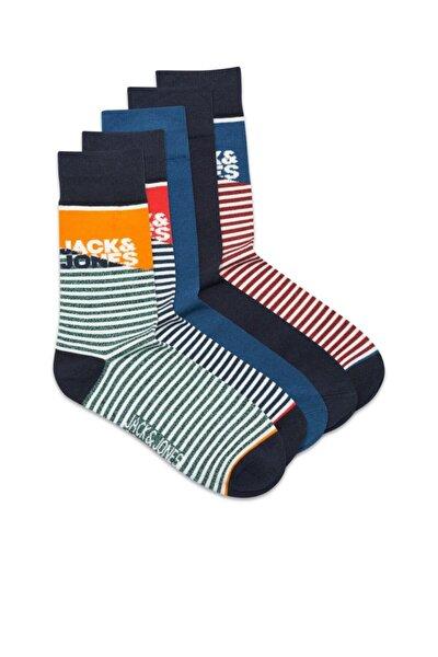 Erkek Jack Jones Jacjımmıe Sock 5 Pack 12189240