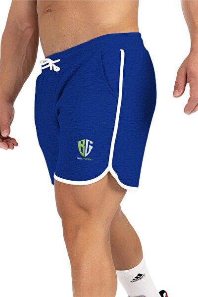 Erkek Mavi New Men Short Shorts