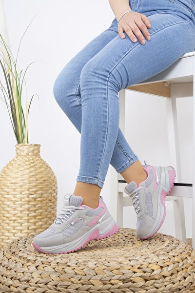 Kadın Sneakers Yürüyüş Ayakkabısı 1865 Buz File