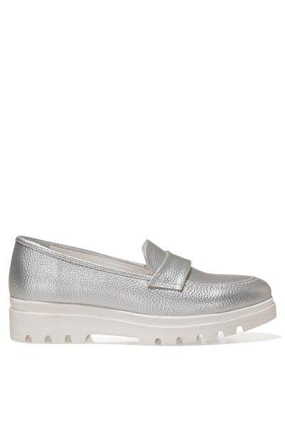 PIPER 1FX Gümüş Kadın Loafer Ayakkabı 101009742