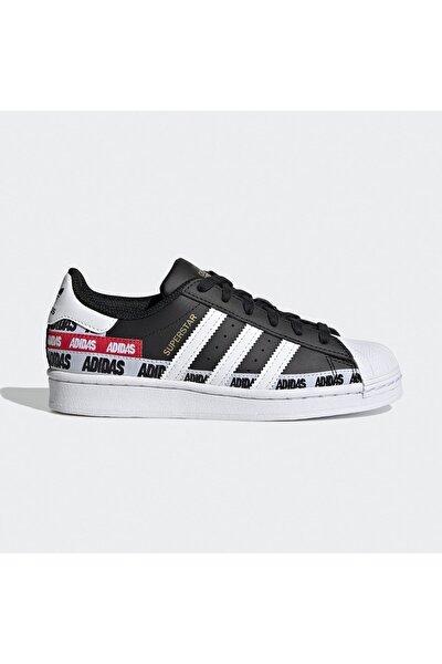 Kadın Siyah Beyaz Yazılı Ayakkabı Fx5872