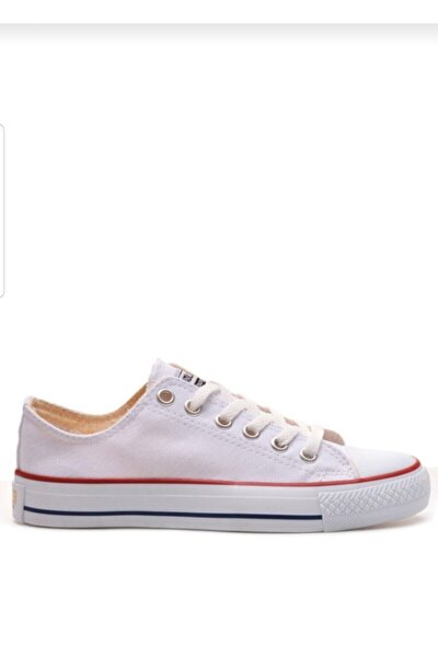 Unısex Beyaz Kısa Cnvrs Spor Ayakkabı