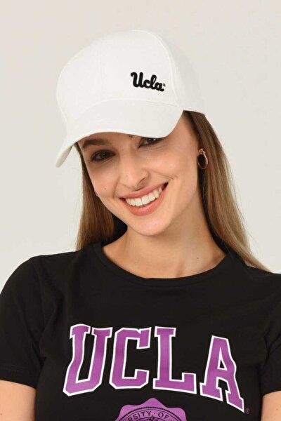 Jenner Beyaz Baseball Cap Nakışlı Şapka