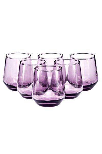 420202 Allegra Mor Kahve Yanı Su Bardağı 115 Cc 6 Lı