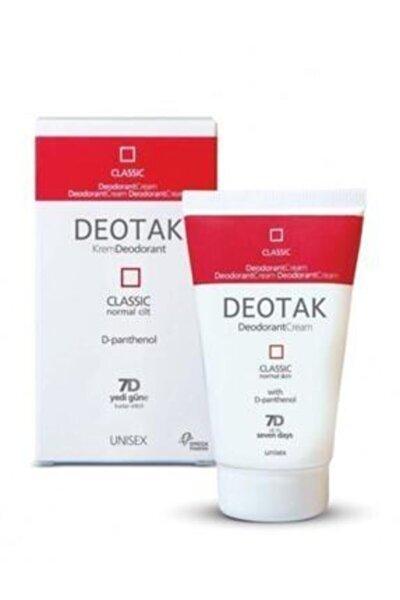Normal Ciltler Için Klasik Krem Deodorant 35ml