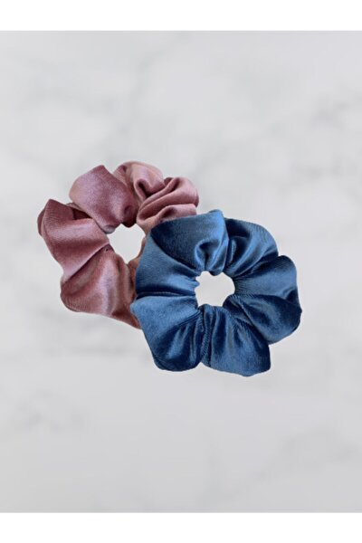 So Soft 2'li Kadife Scrunchie Toka Seti