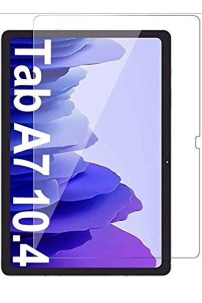 Galaxy Tab A7 10.4 Sm-t500 (2020) Uyumlu  Temperli Kırılmaz Cam Ekran Koruyucu