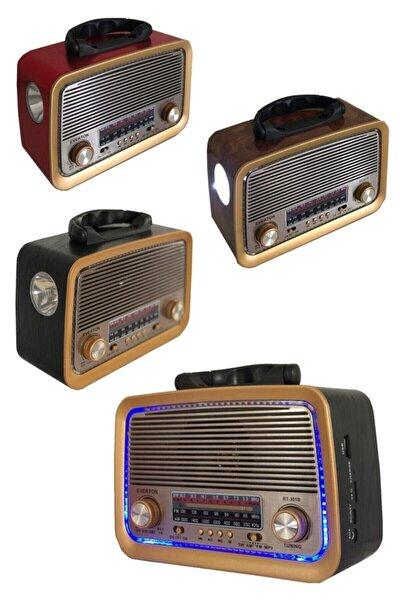 Yeni Rt-301 B Nostaljik Görünümlü Bluetoothlu Ve Fenerli Mp3 Çalar Radyo Müzik Kutusu