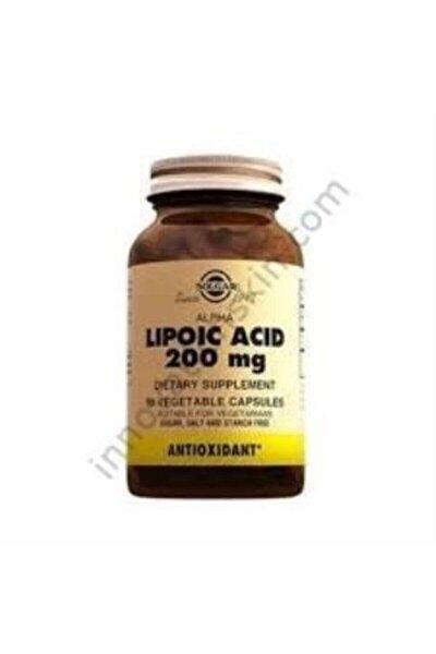 Alpha Lipoic Acid 200 mg 50 Kapsül