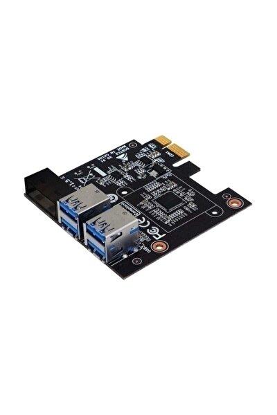 DCBTC2 R01 VER 1.0  1XPCIE  4X USB 3.0 CRYPTO MINING CARD