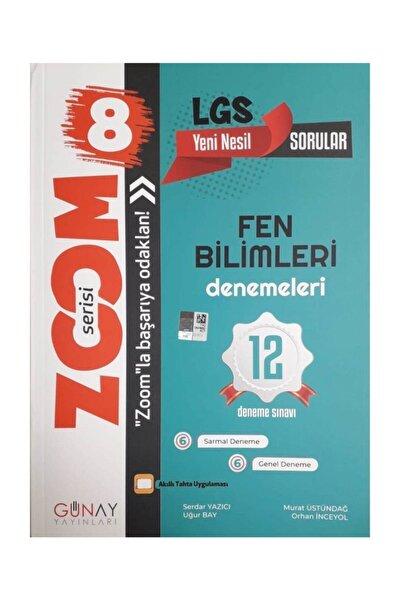 8.sınıf Lgs Zoom Fen Bilimleri 12'li Deneme