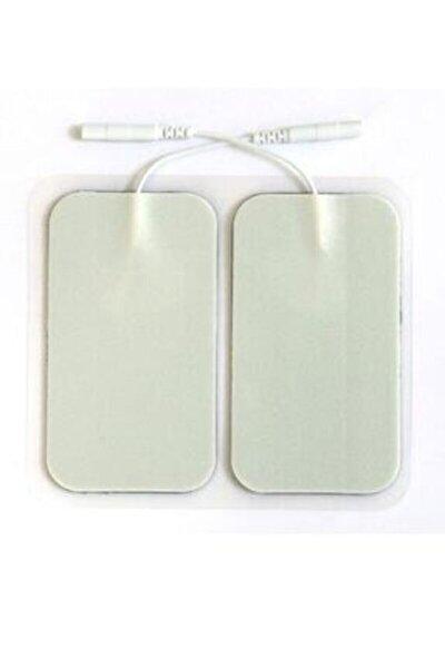 Tens Cihazı Kablolu Yedek Elektrot Dikdörtgen Tens Pedi 4'lü Paket 5x9