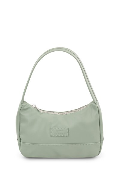 Kadın Su Yeşili Baguette Çanta 197