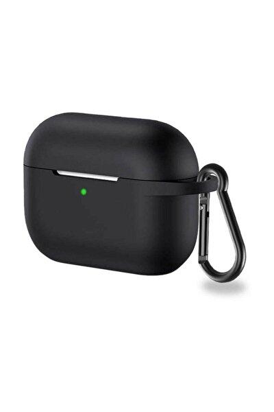 Silikon Airpods Pro Kılıf - Siyah