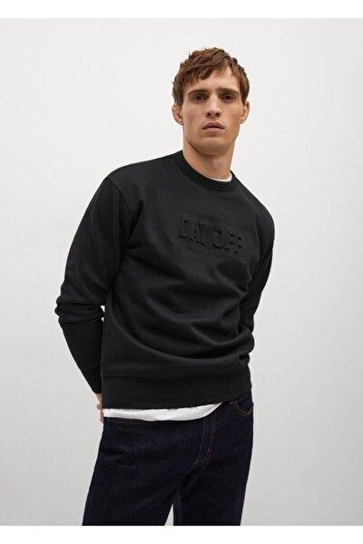 Yazılı Penye Sweatshirt