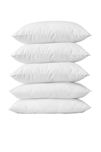 5 Adet Antialerjik 50x70 Boncuk Slikon Yastık 1000 Gr/