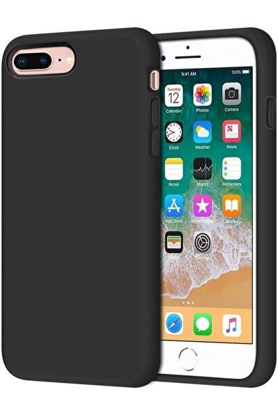 Iphone 7 Plus / 8 Plus Uyumlu Içi Kadife Lansman Silikon Kılıf