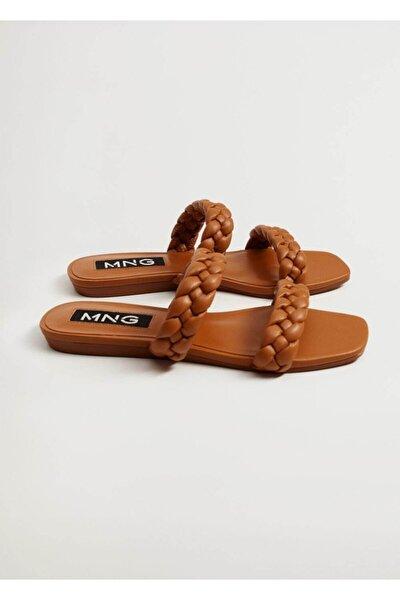 Örgü Bantlı Sandalet