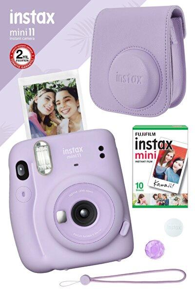 Instax Mini 11 Lila Fotoğraf Makinesi Ve Hediye Seti 3