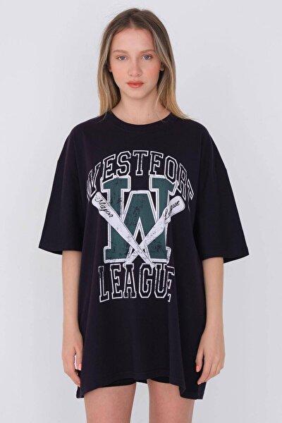 Baskılı T-shirt P9550 - D6