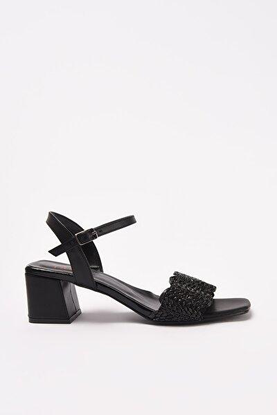 Siyah Kadın Sandalet 01SAY209540A100