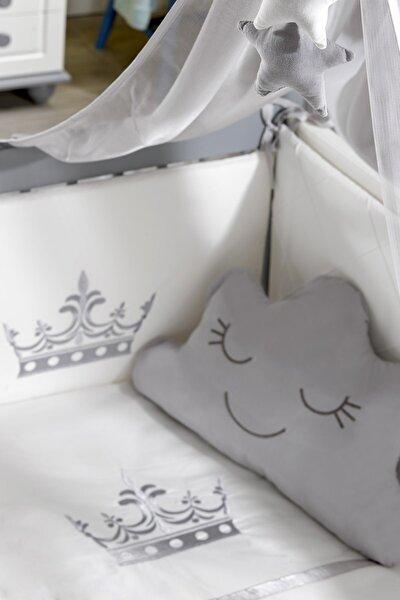 Motto Nakışlı Bebek Uyku Seti - 60x120 cm
