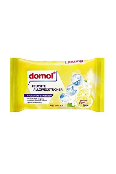 Islak Temizlik Bezi Çok Amaçlı, Limon Kokulu 50 Adet