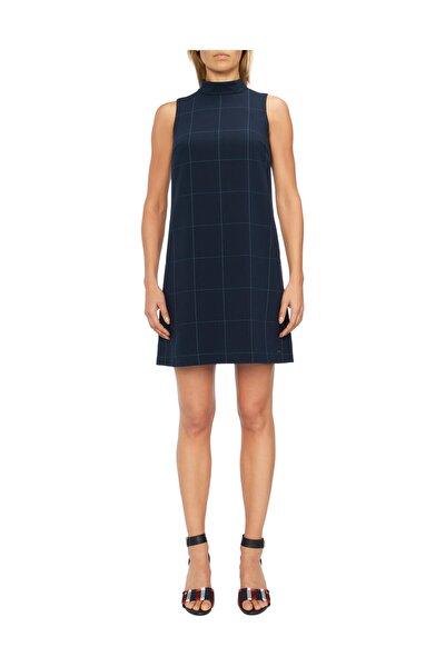 Kadın Mavi Elbise Berber Mini Dress WW0WW24223
