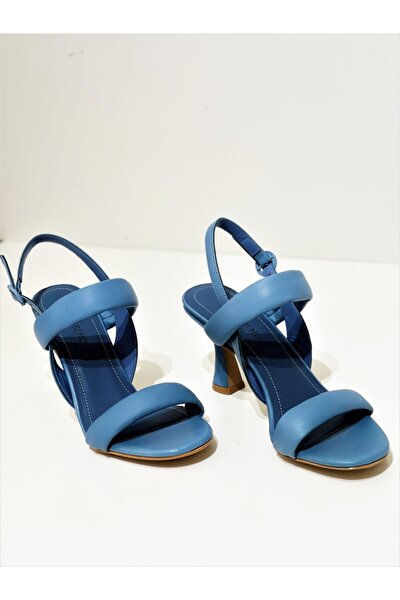 Kadın Bantlı Topuklu Ayakkabı