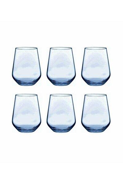 Mavi Allegra 6'lı Kahve Yanı Bardağı