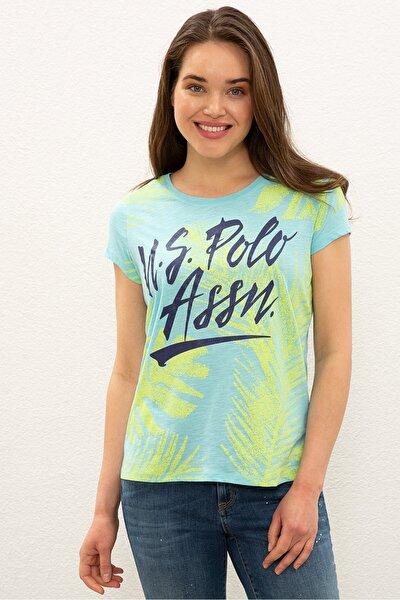 Yesıl Kadın T-Shirt