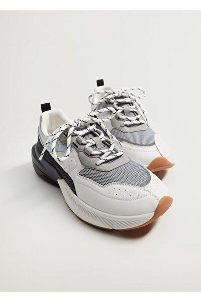 Platformlu Spor Ayakkabı