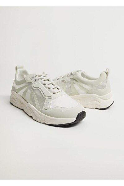 Transparan Parçalı Ayakkabı