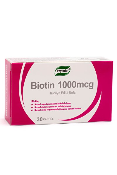 Biotin 1000mcg - 30 Kapsül