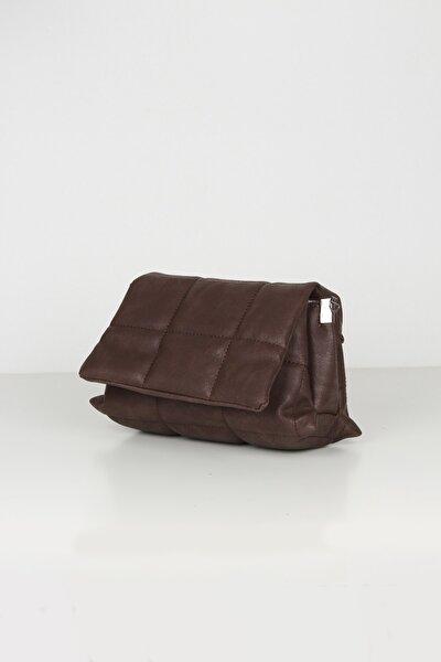 Kadın Kahverengi  Mini Omuz Çantası