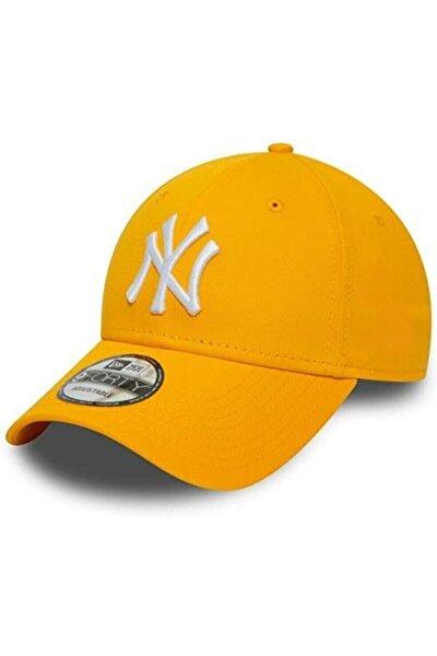 Ny New York Şapka Unisex Sarı Şapka