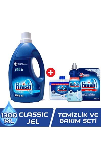 Classic Jel 1300 ml Bulaşık Makinesi Deterjanı + Temizlik Ve Bakım Seti
