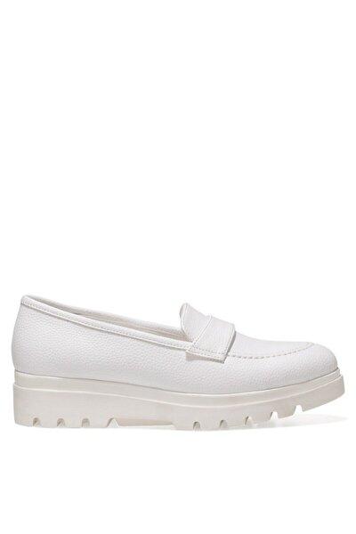 PIPER 1FX Beyaz Kadın Loafer Ayakkabı 101009401