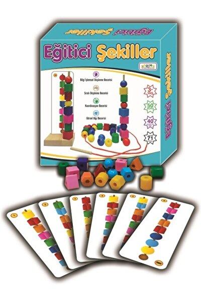 Bak Diz Boz Oyunu Eğitici Şekiller