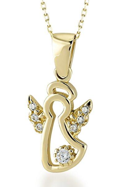 Gelin Diamond 14 Ayar Altın Melek Kolye