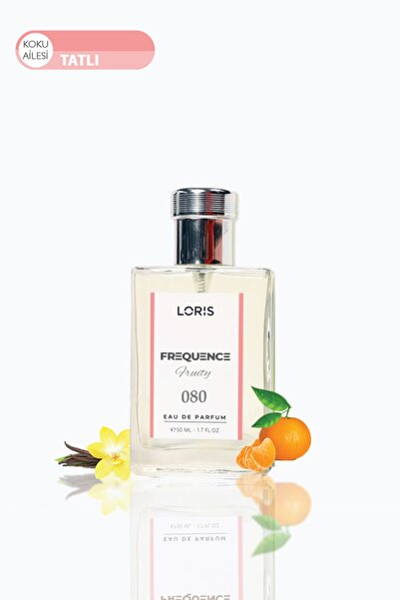 E-80 Frequence Parfume Edp 50 ml Meyve & Narenciye  Erkek Parfüm