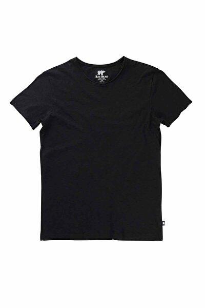 Erkek Siyah O-neck Tee Tişört 18.01.07.011-c01
